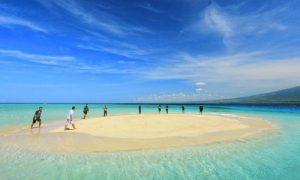 wisata pulau pasir di Lombok