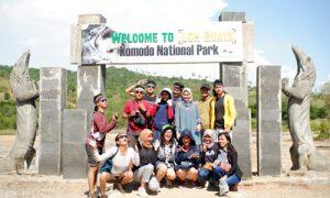 sejarah taman nasional komodo